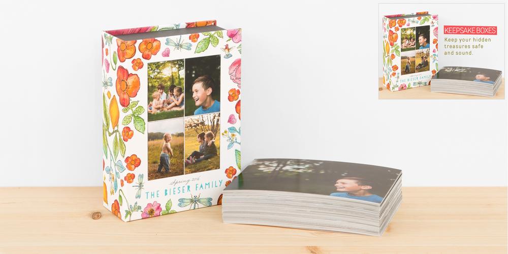 Keepsake Boxes and Prints