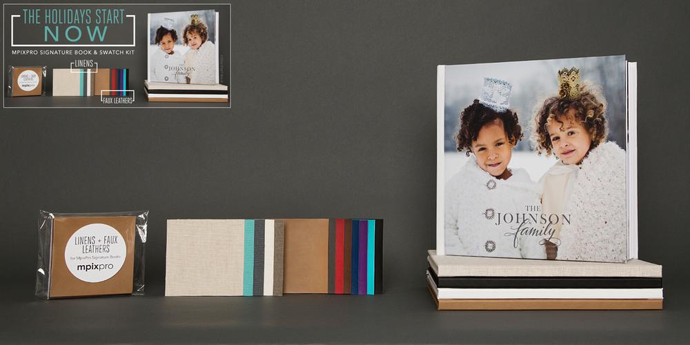 MpixPro Signature Books, Swatch Kits