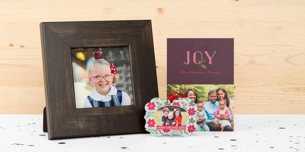 Framed Print, Holiday Ornaments, Card