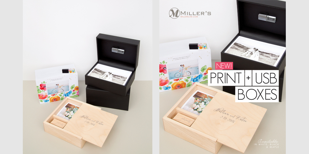 Print and USB Boxes