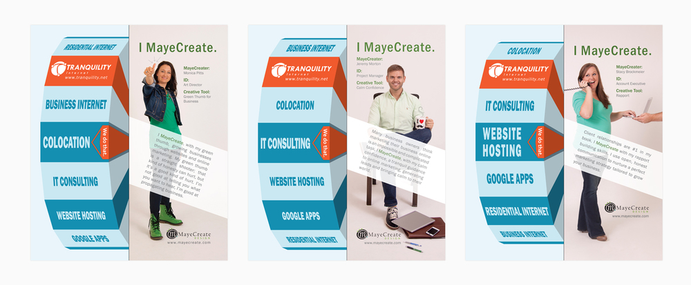 MayeCreate Design | Consecutive Publication Advertisements, Photography