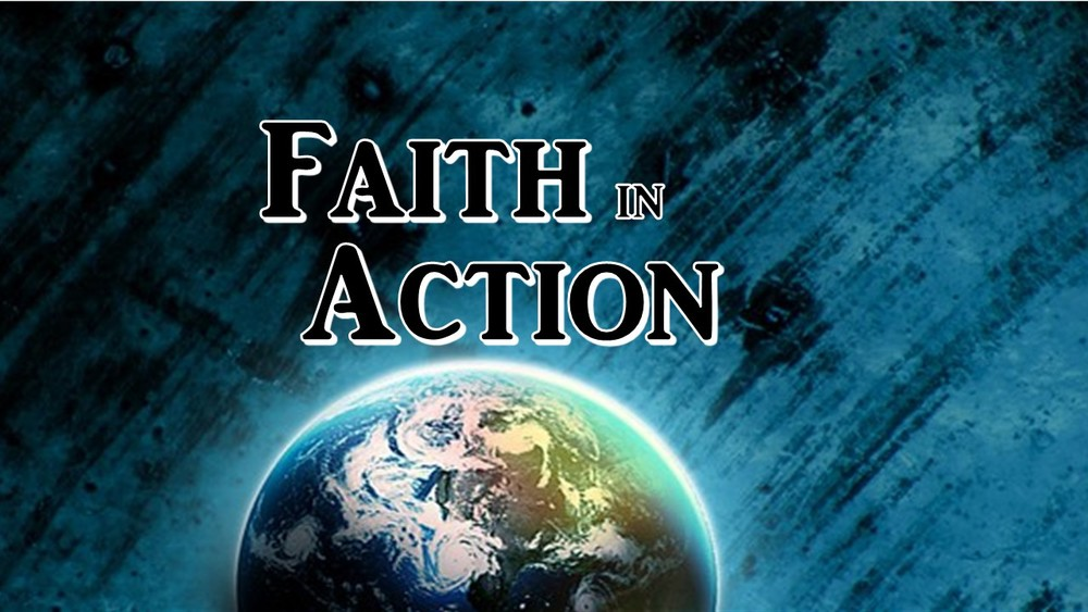 Faith in Action is August 14th, 2016.