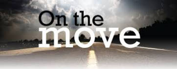 On the Move is a section through the Book of Acts from 18:1-19:41.  We follow the movement of Christianity through missionary journeys around the then known world.   May 3rd - June 7th 2015
