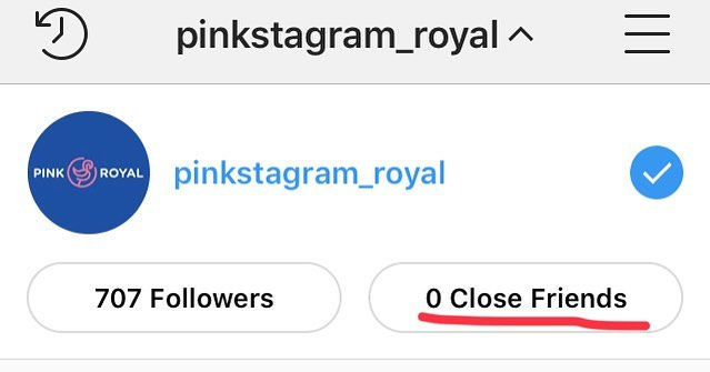 That's cold, @instagram... that's cold. #noclosefriends