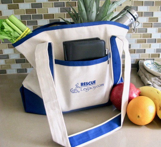Sign up BELOW for a chance at our giveaways including our stylish, heavy-duty tote bag. Enjoy our blogs about the joys and challenges of responsible pet parenting. Rescue Legacy is your resource for creating a lifetime of good health and happiness with your pet. Winners will be drawn periodically at random.