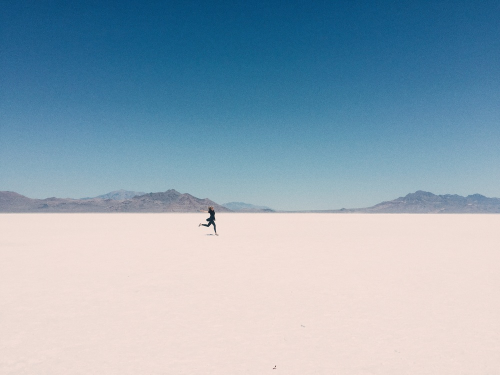 Salt Flats in Utah, July '15