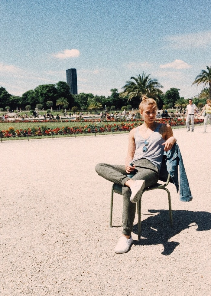 Sister in Paris, June '15