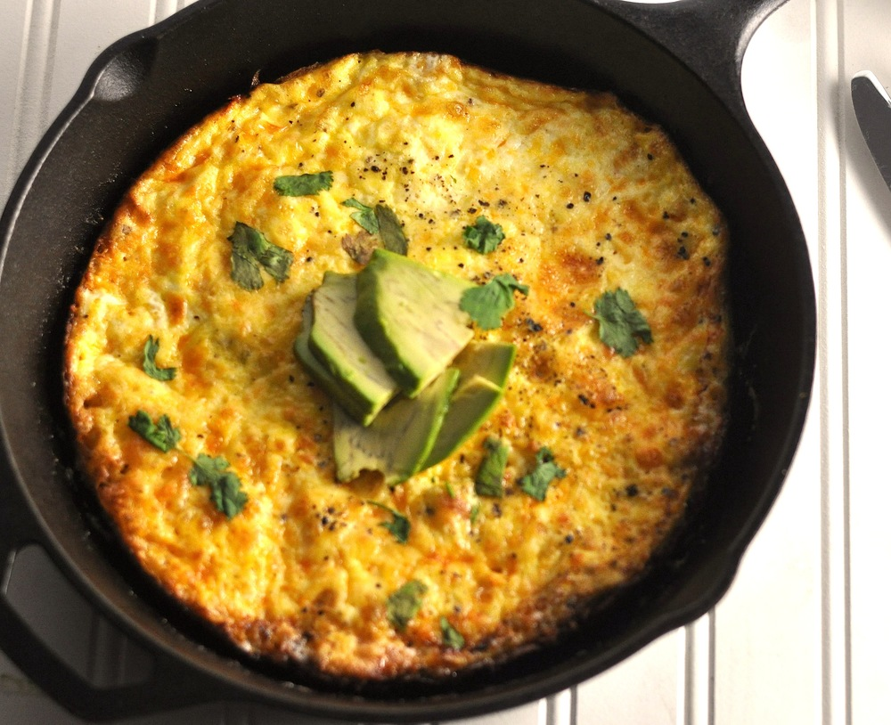 Bacon Frittata - Low Carb, Ketogenic, Gluten-Free — Modern Low Carb