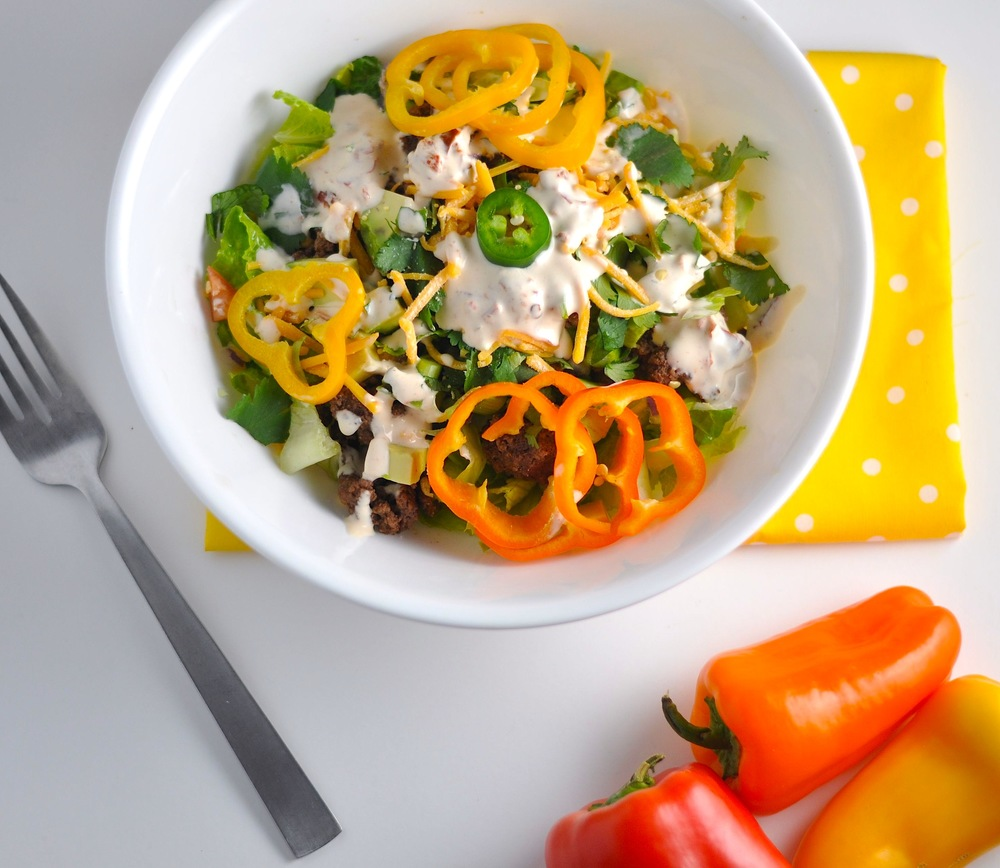 Taco Salad - Low Carb, Keto, Gluten-Free — Modern Low Carb