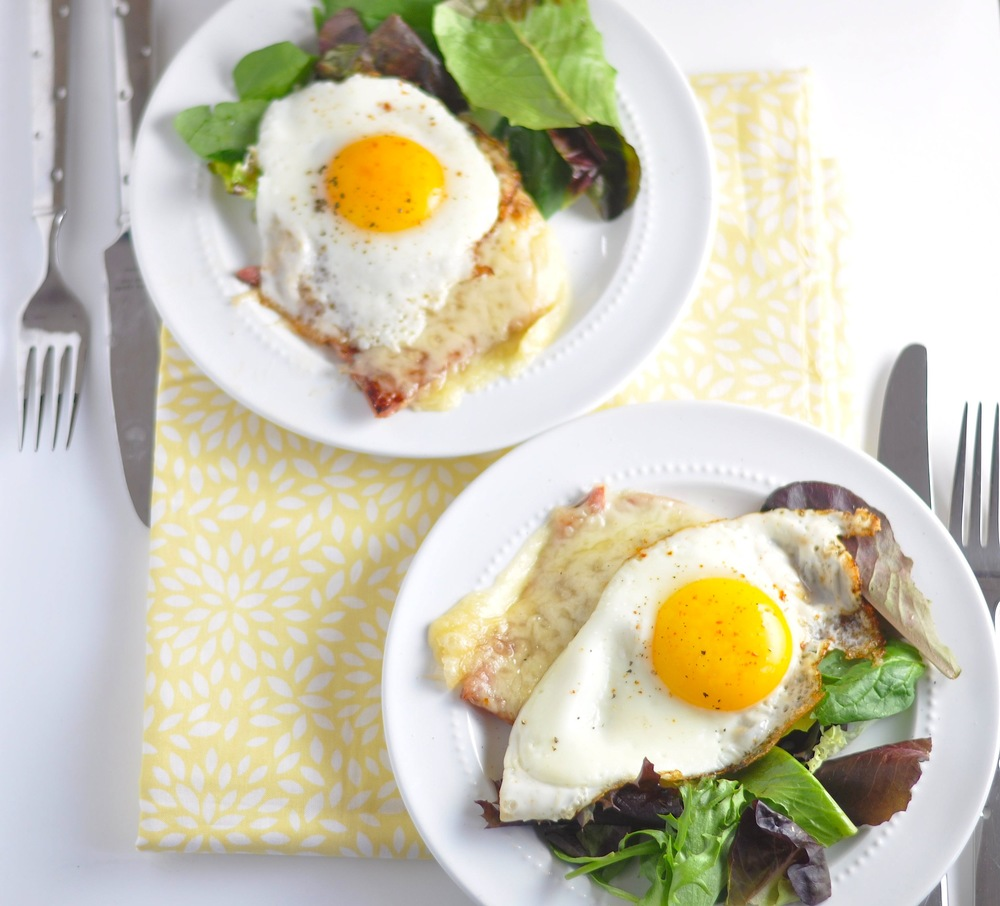 low carb croque madame