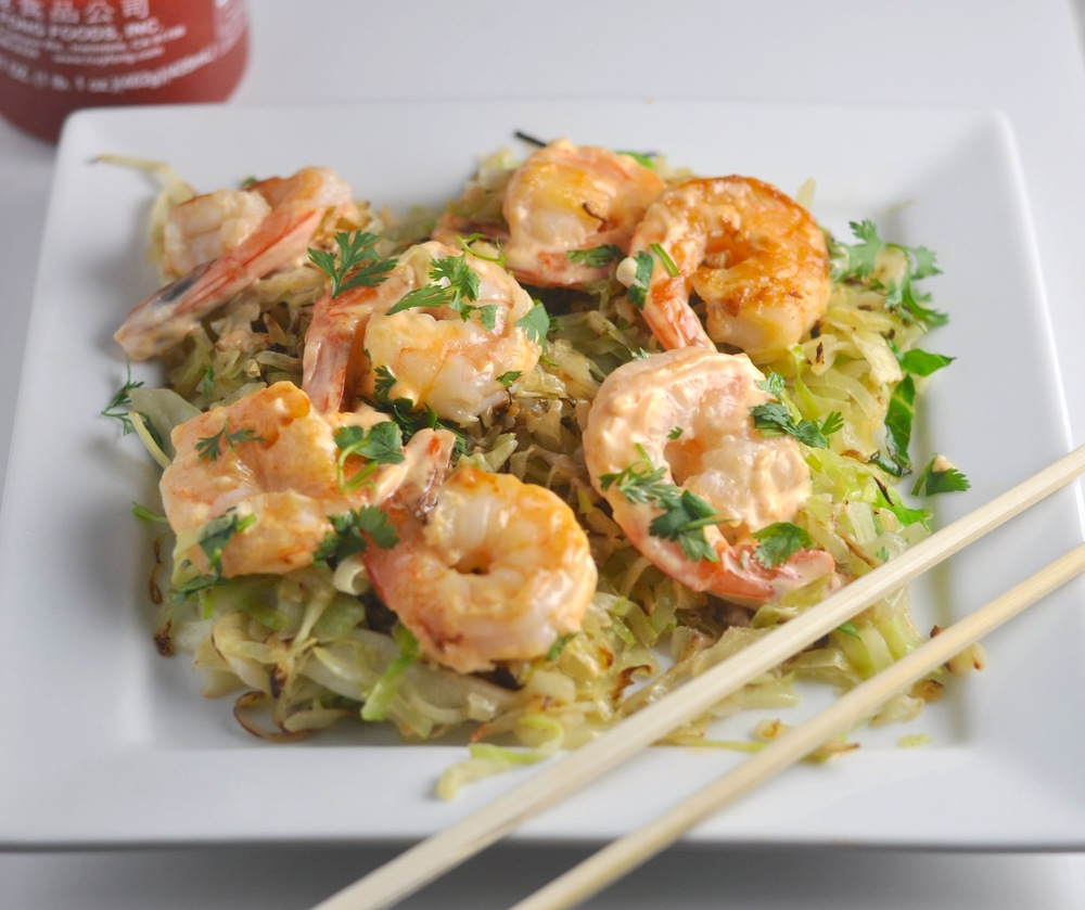 spicy low carb shrimp