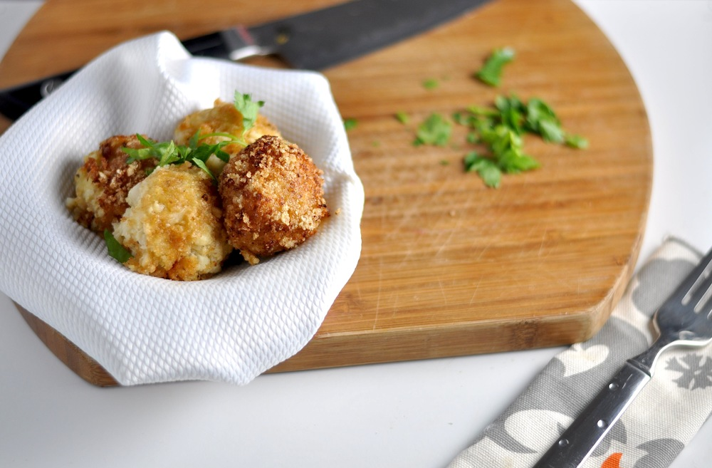 low carb cauli arancini