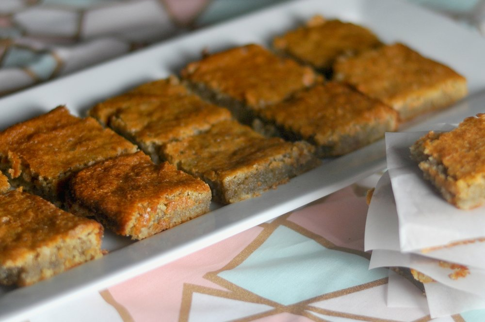 low carb blondies