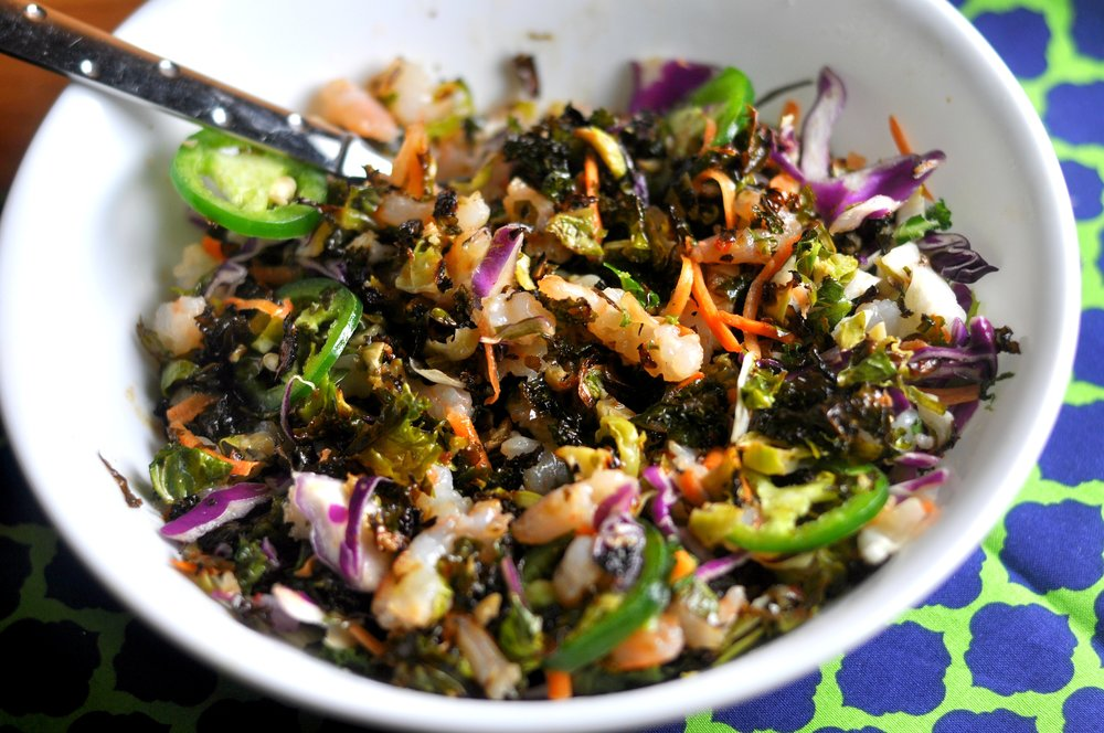 brussels and kale salad 2
