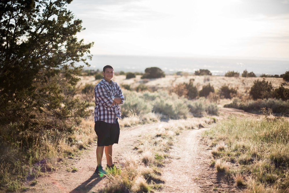 albuquerque high school senior photographer
