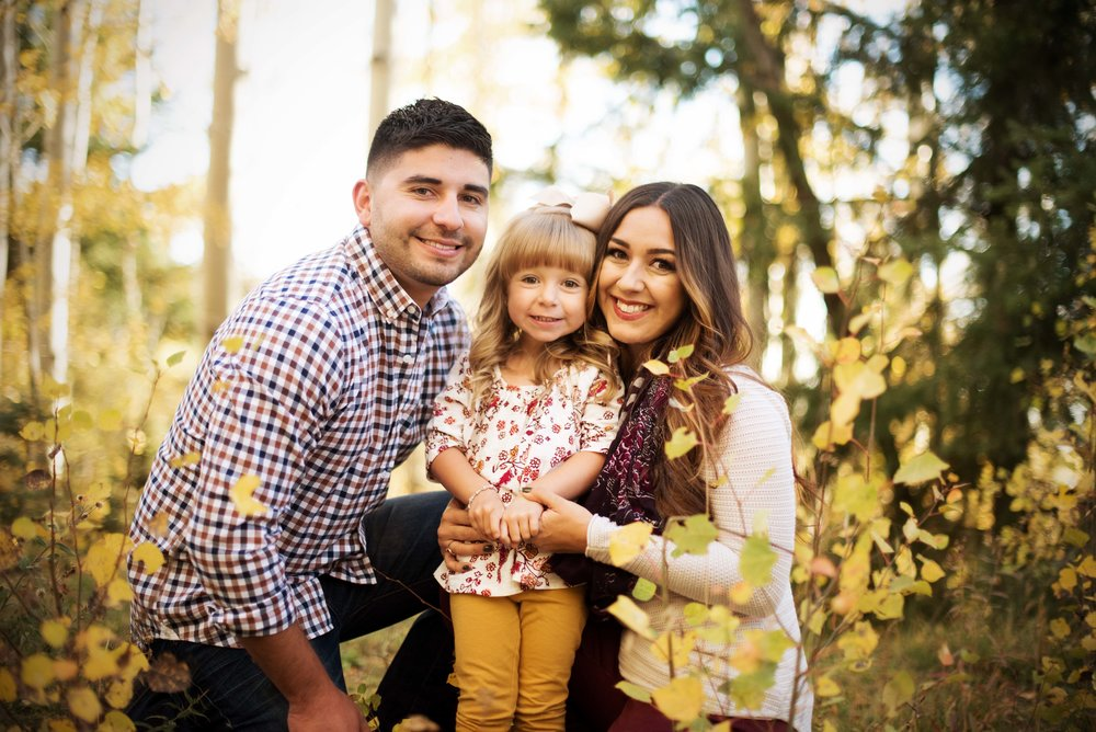 family photographer santa fe, nm aspens