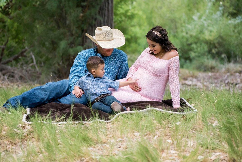 santa fe maternity photographers