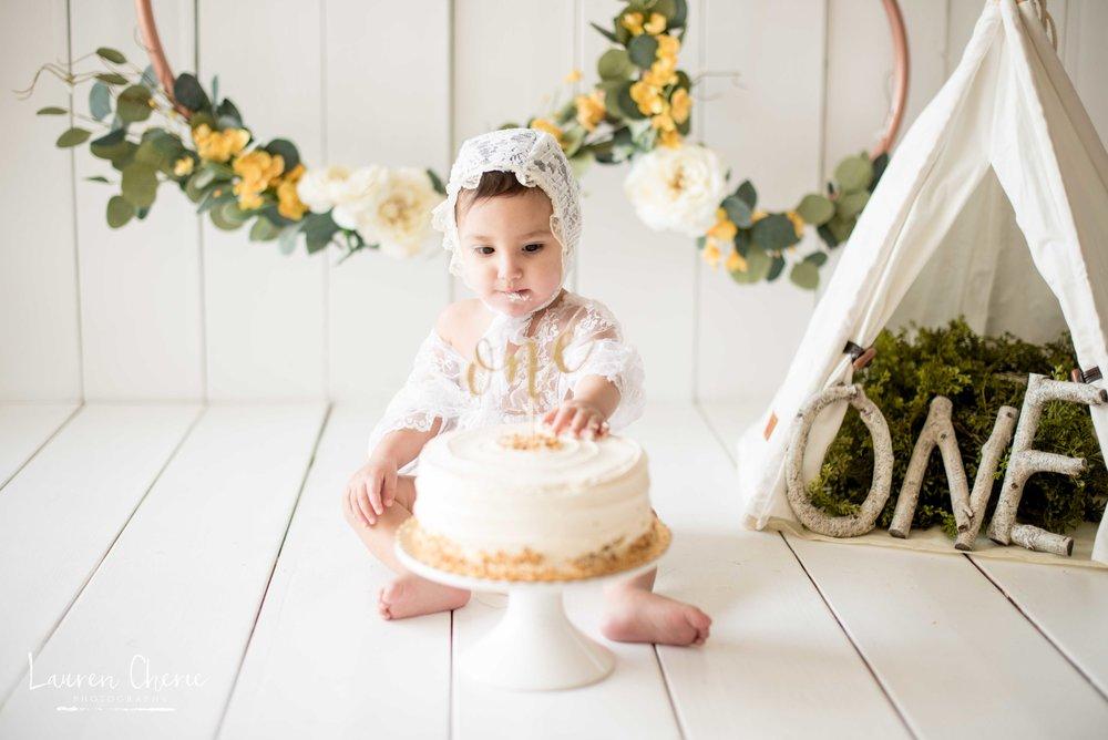 cake smash photos albuquerque