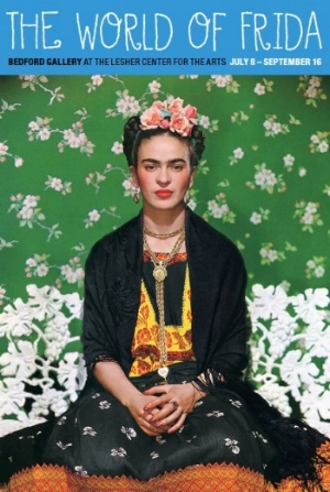 Nickolas Muray,  Frida on White Bench, New York  (detail), 1939. Courtesy of the Nickolas Muray Photo Archives and the Bedford Gallery.