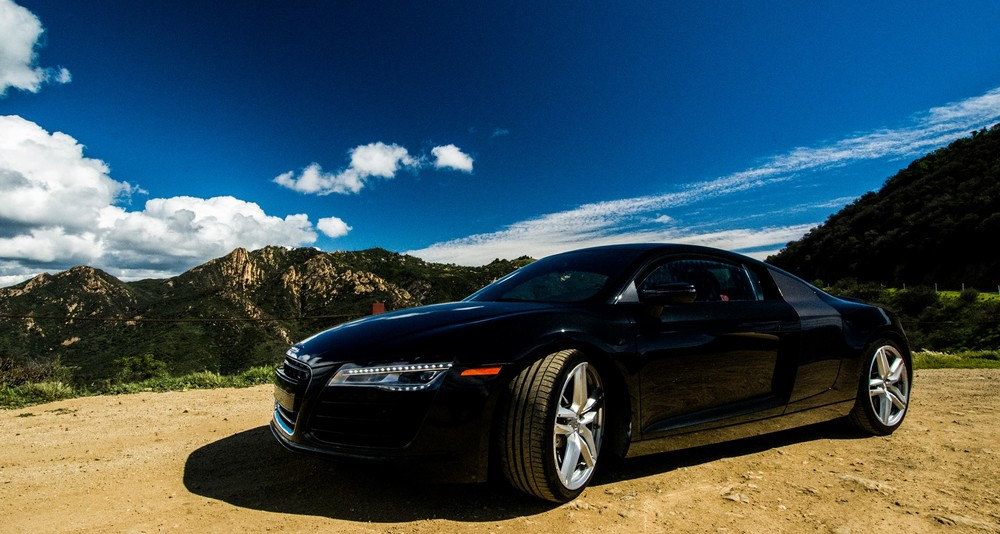 Audi R8, Santa Monica Mountains