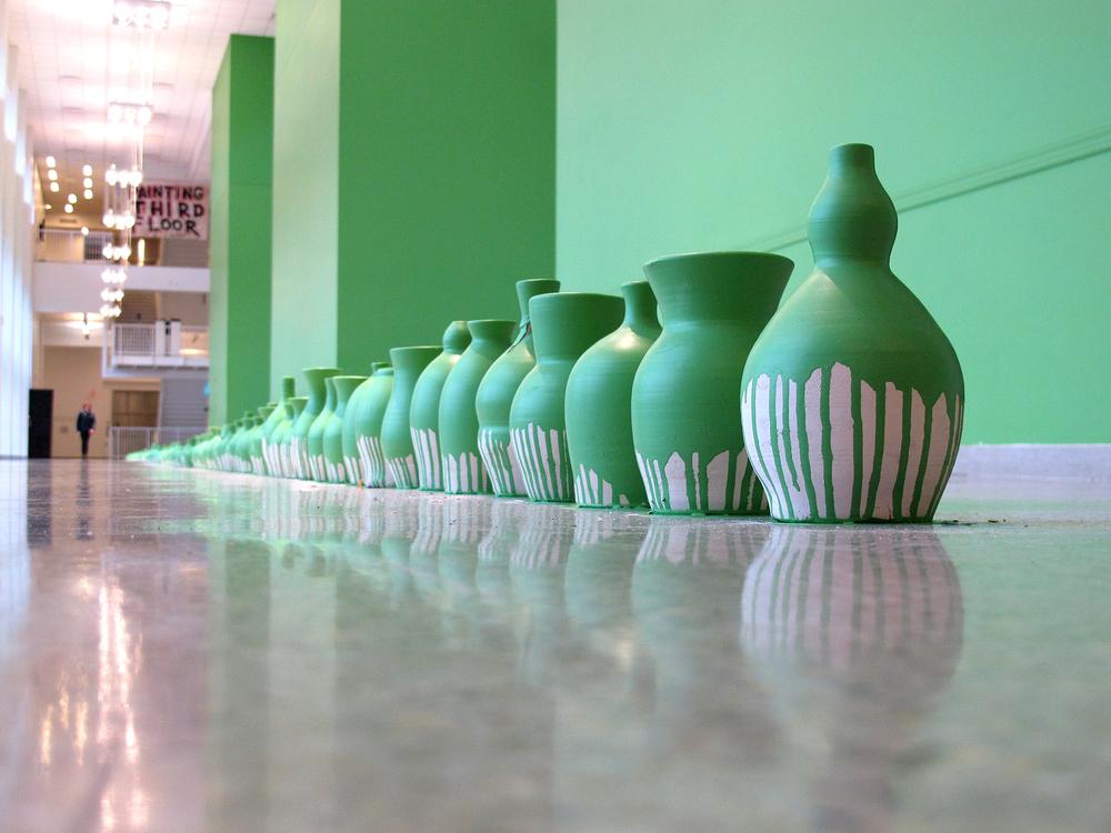 Green Pots
