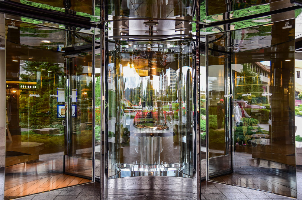 Architectural photography of hotel in Coeur d' Alene Idaho