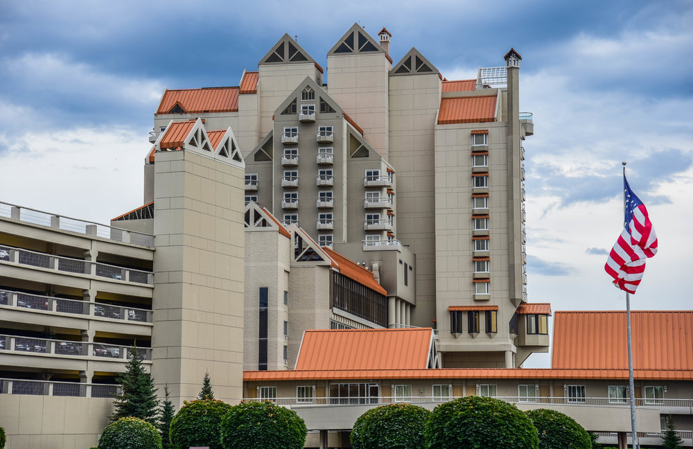 Architectural photography in hotel in Coeur d' Alene Idaho