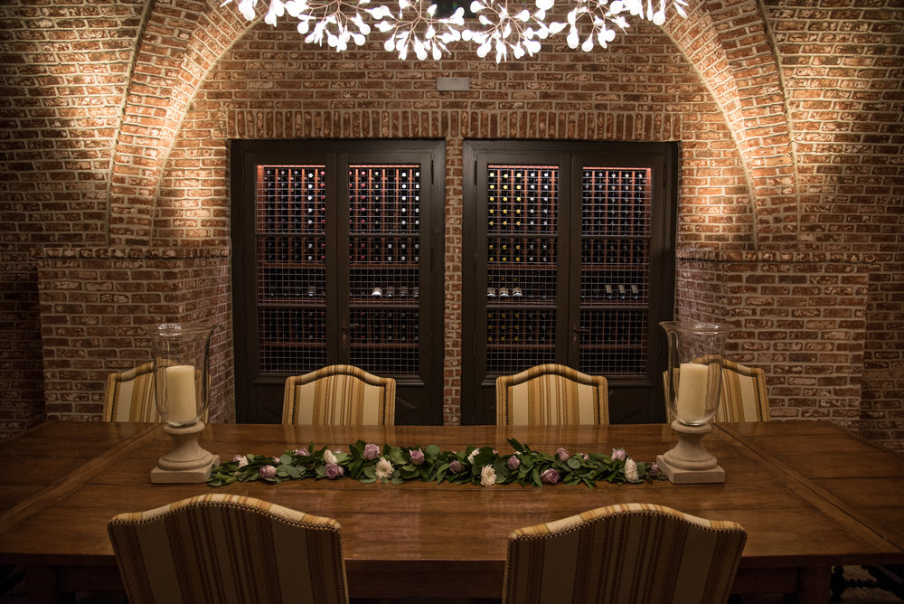 Architectural photography for winery cellar in Napa Valley