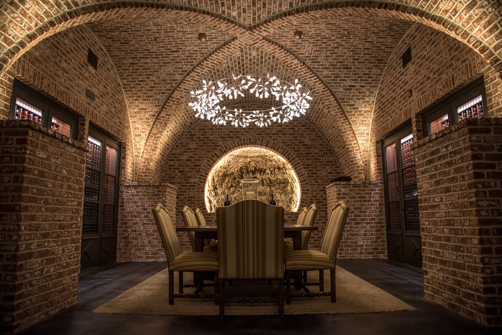 Architectural photography for winery in Napa Valley