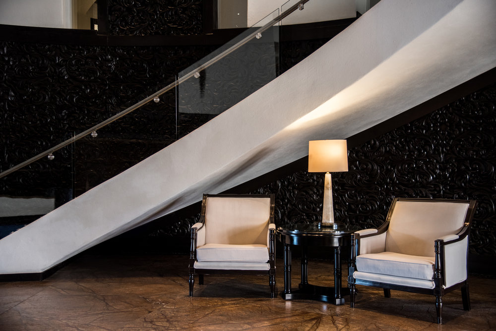 Architectural photography in hotel in Cabo San Lucas