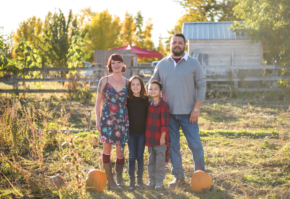 a beautiful family shoot in coeur d alene idaho