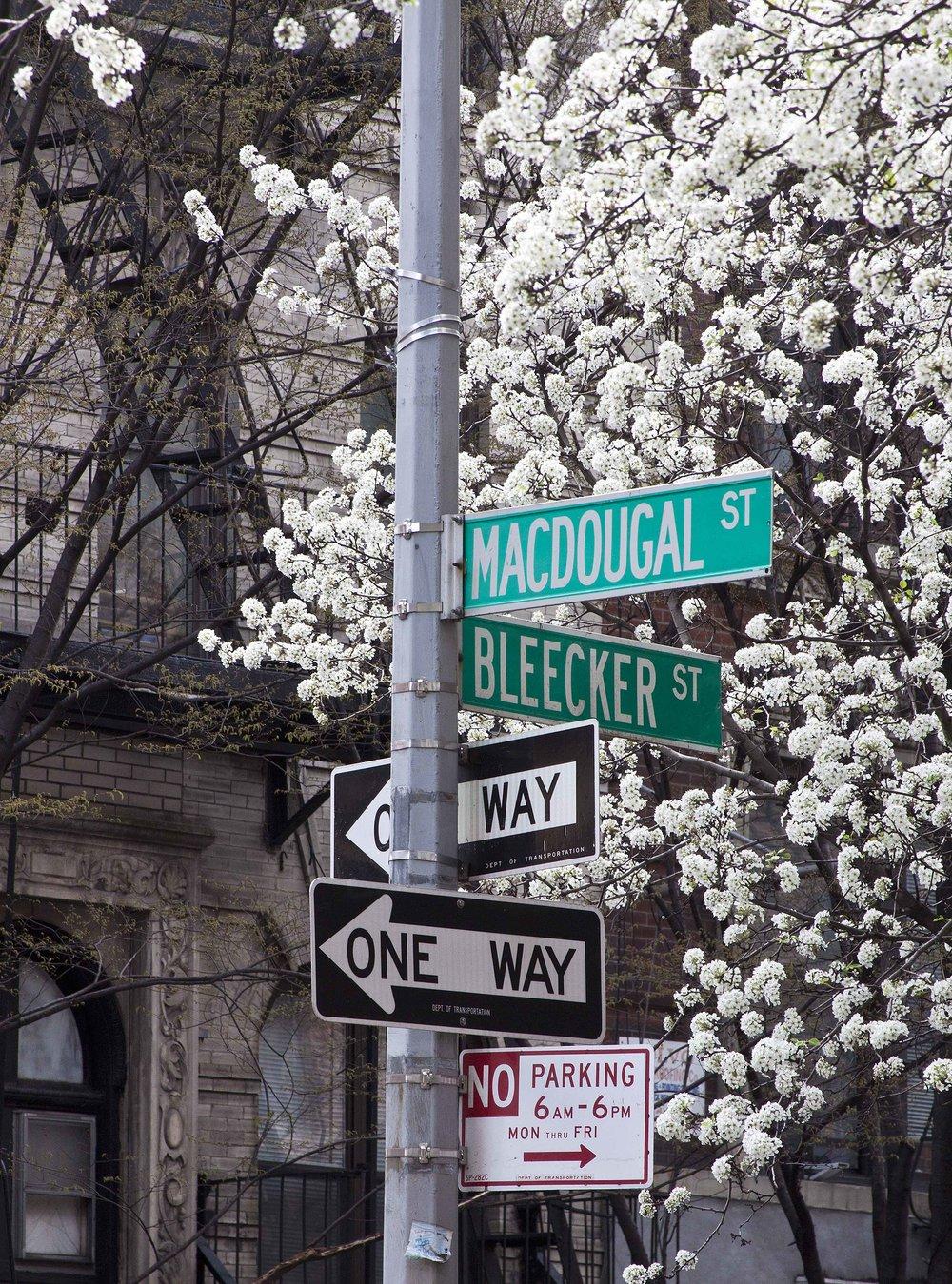 Greenwich Village Intersection