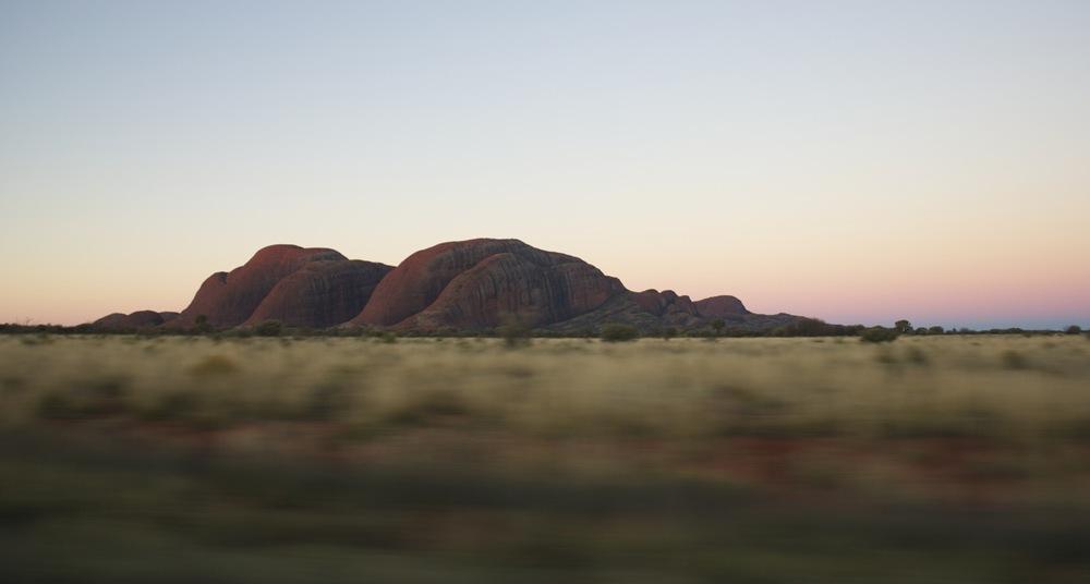 Sunset at Kata Tjuta, NT
