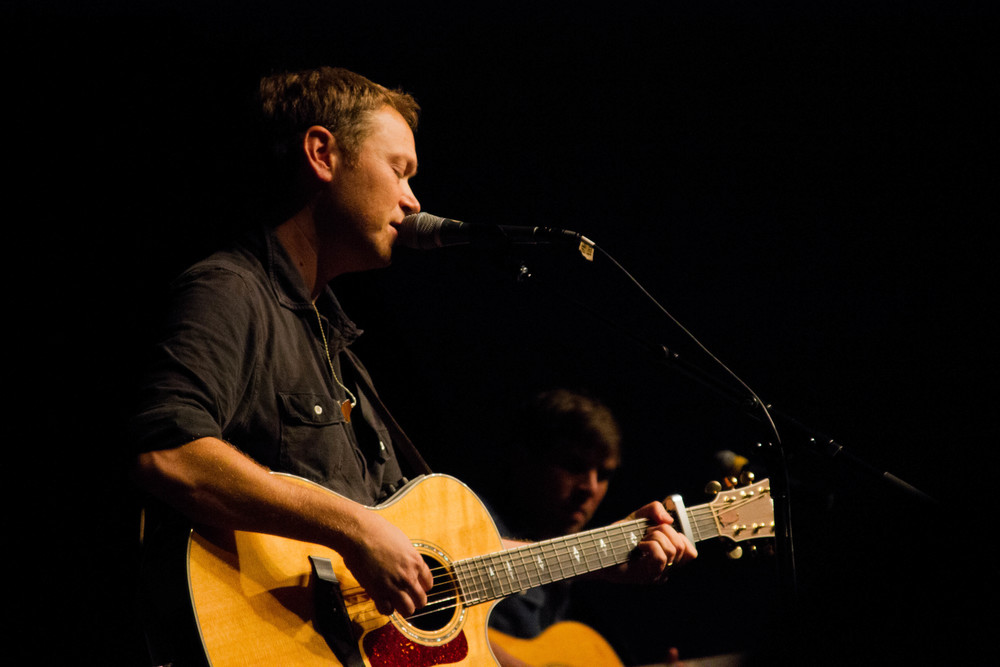 Andrew Peterson at Covenant College, photo by Abby Whisler