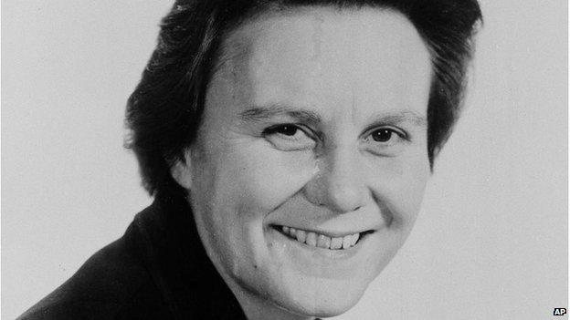 Harper Lee, photo by Associated Press