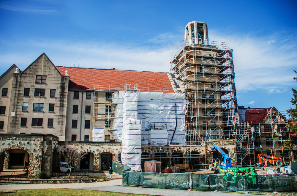 Carter Hall Renovations. Photo credit: Michael Fuller