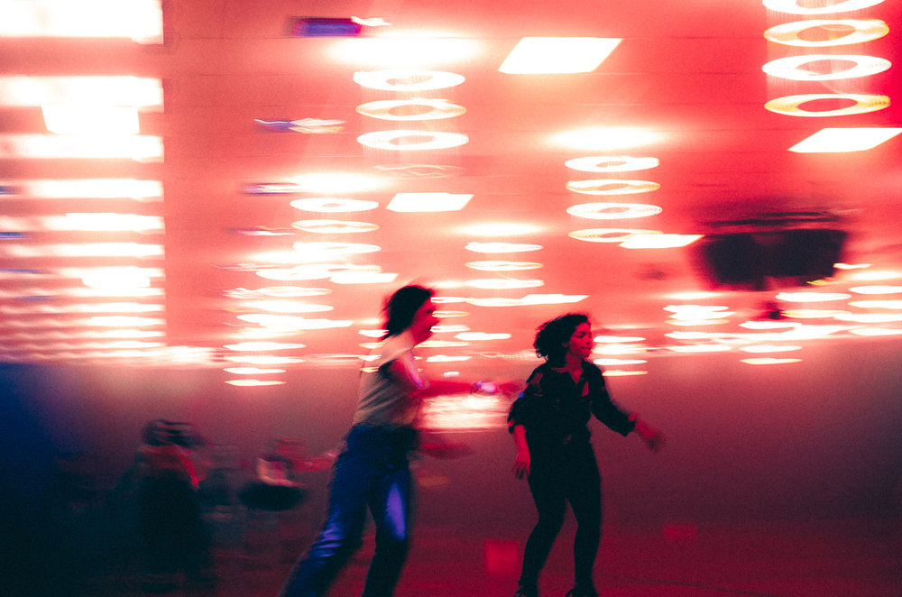 80s Skate Night is always a favorite event. (Photo by Daniel Fremen.)