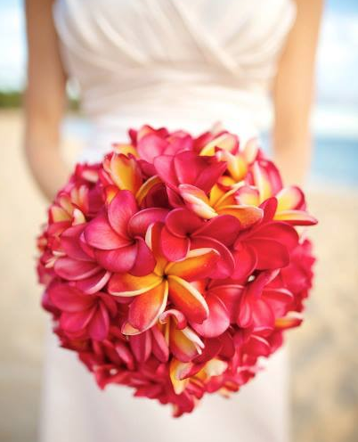 Anna Kim Photography  Plumeria Bouquet - Season: May - November