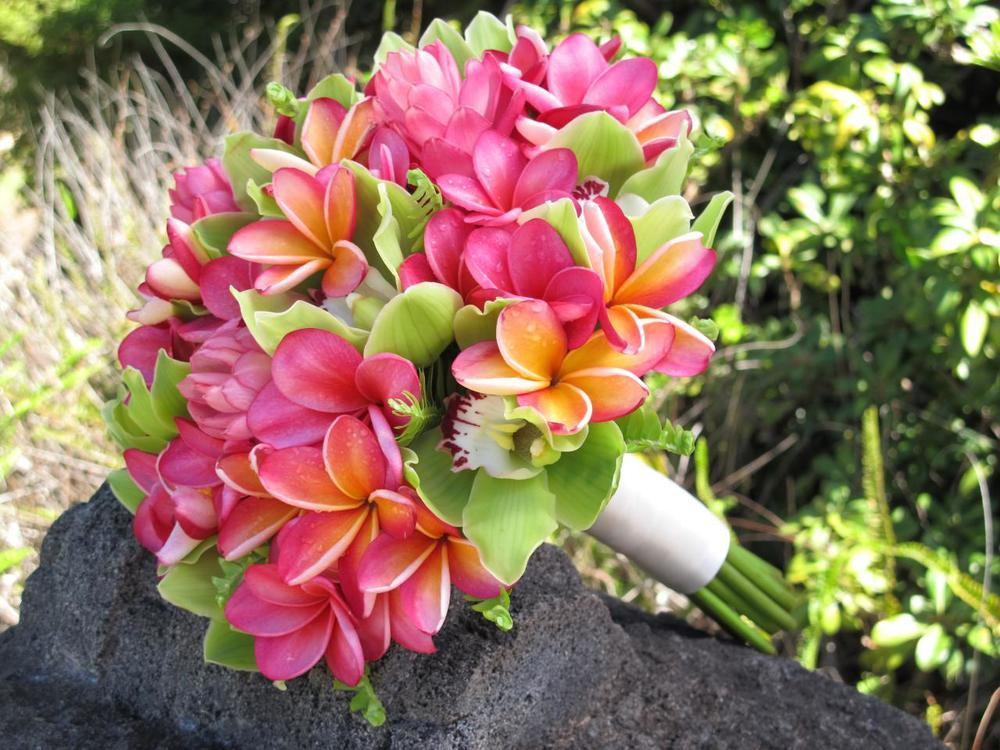 PC: LHFD  Plumeria Bouquet - Season: Mid May - November