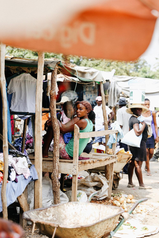 Woman in Jacmel
