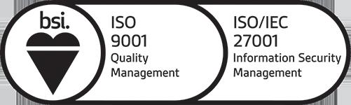 ISO 9001 + ISO/IEC 27001