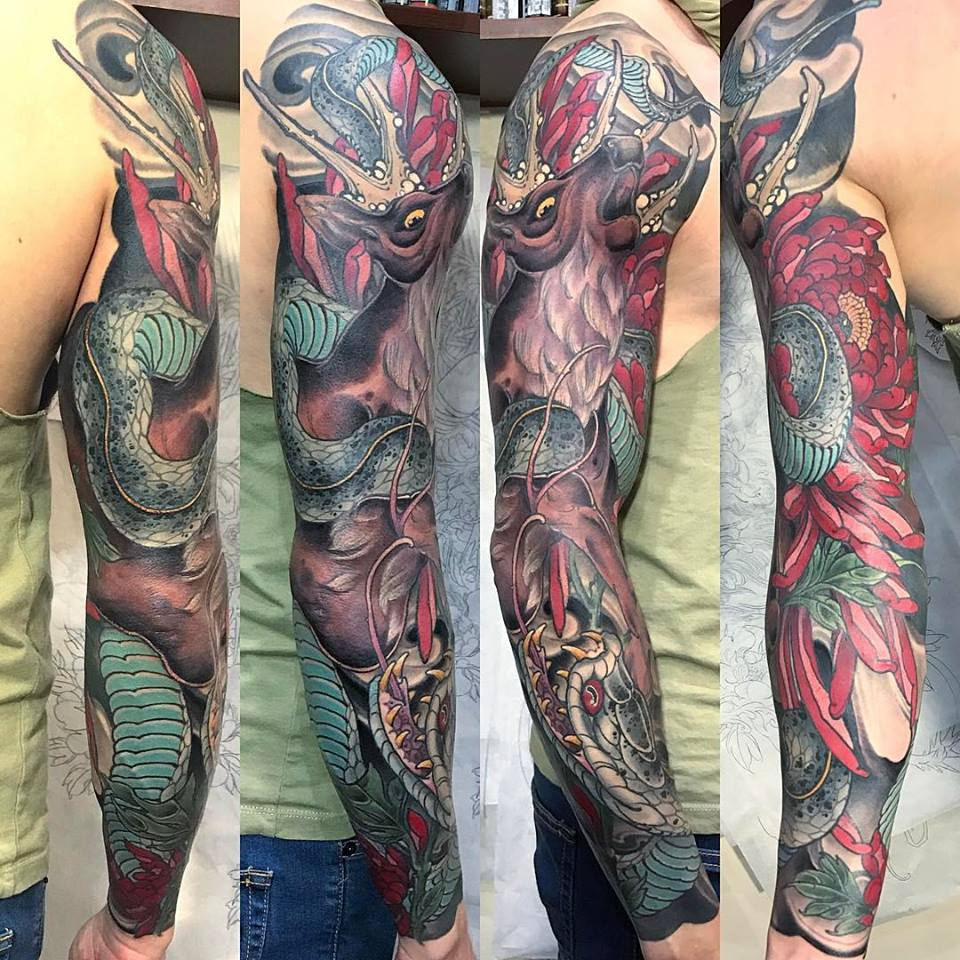 "Sleeve by Ryan ""Maverick"" Reeve"