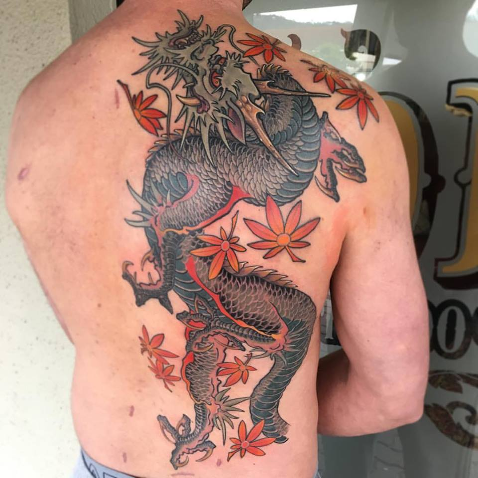 Dragon in progress by Tom de Vries