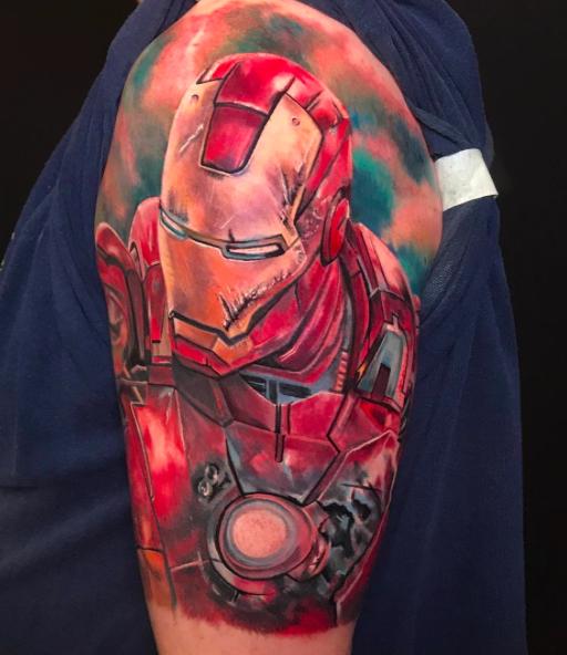 Iron Man by Dan Mawdsley