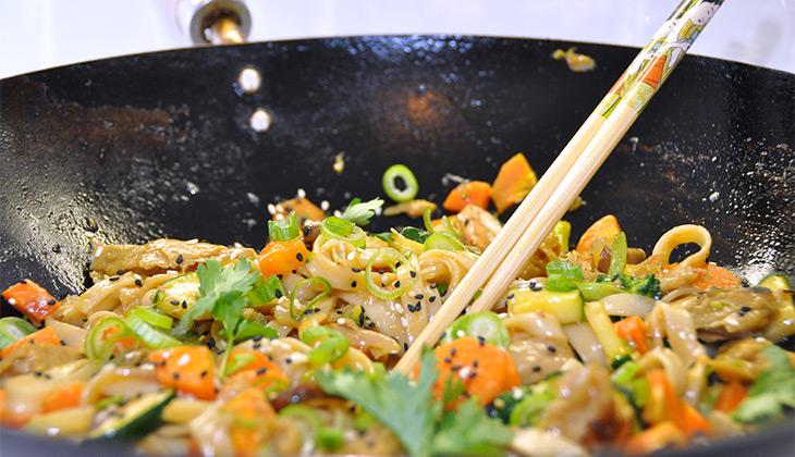 teriyaki soba noodles