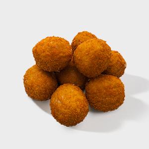 vegetarian croquette ball