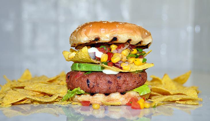 vegetarian burger El Passo