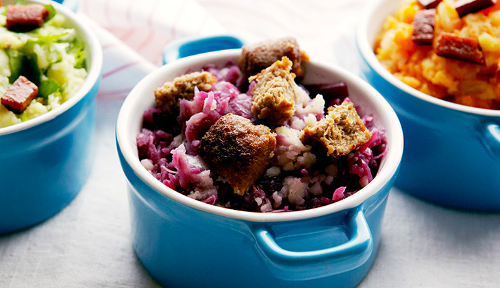 red cabbage dish