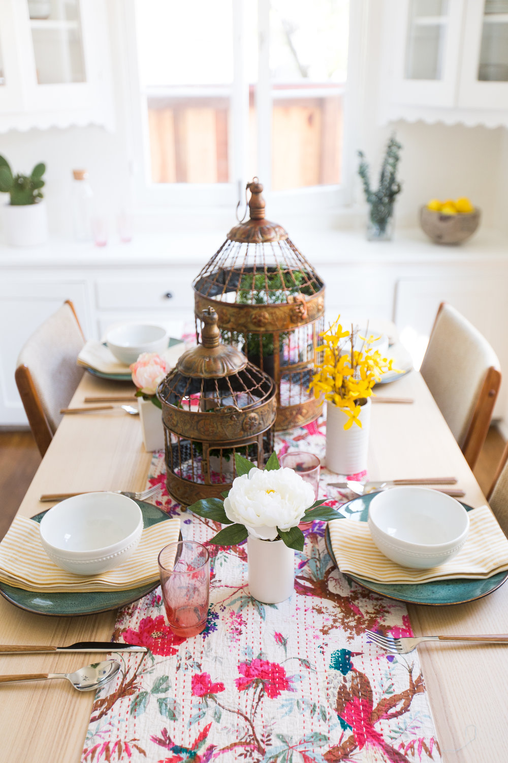 Spring Tablescape Design