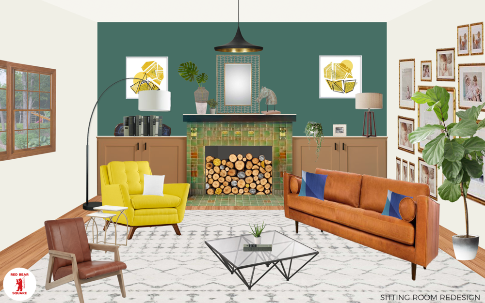Sitting Room Redesign